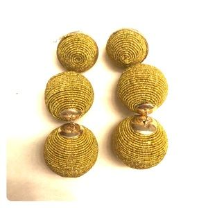 Jewelry - Cute statement earrings! Mustard color